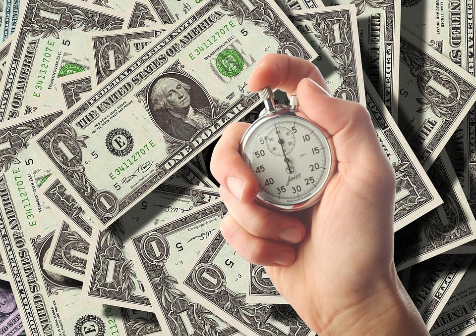 dolary a čas