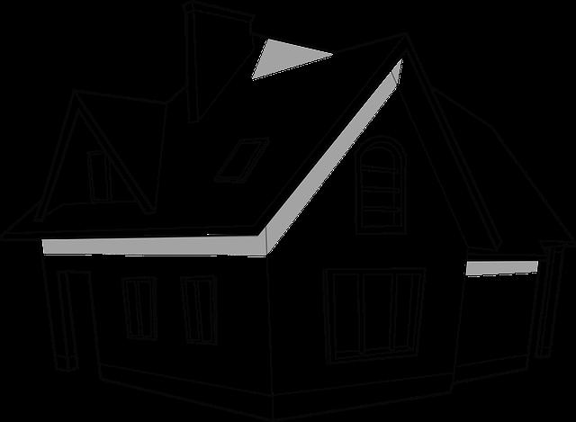 nákres domku