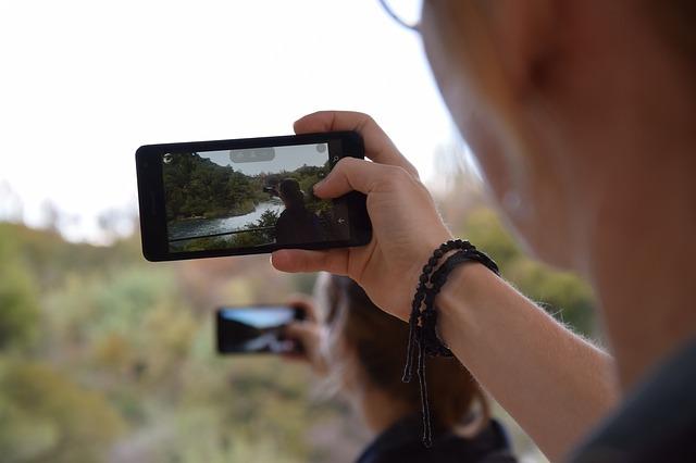 foto přírody mobilem