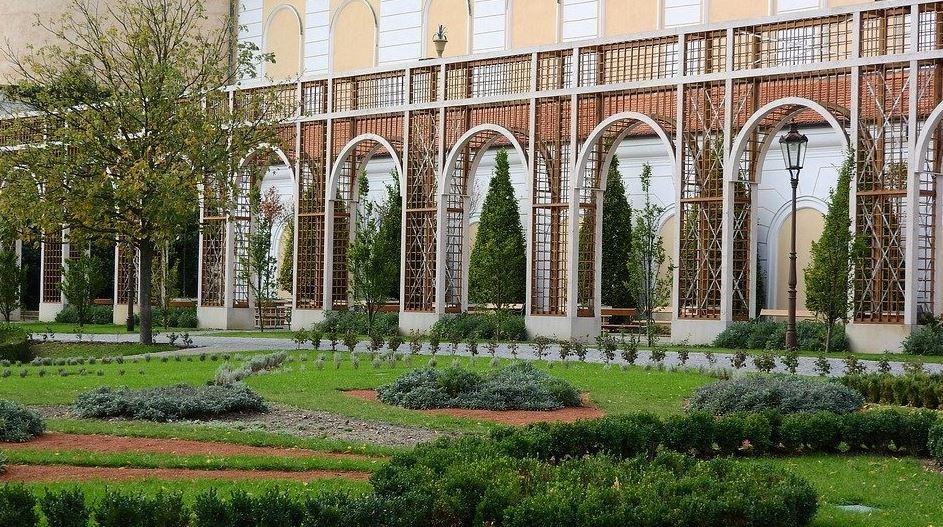 zahrada v Mikulově